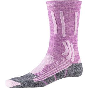 X-Socks Trek X Merino Socks Damen magnolia purple melange/dolomite grey magnolia purple melange/dolomite grey