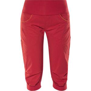 Ocun Noya Shorts Damen red/yellow