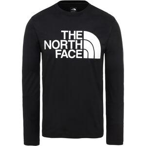 The North Face Flex 2 Big Logo Langarmshirt Herren tnf black/tnf white tnf black/tnf white