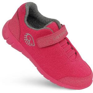 Giesswein Merino Wool Runners Kinder rubin rubin