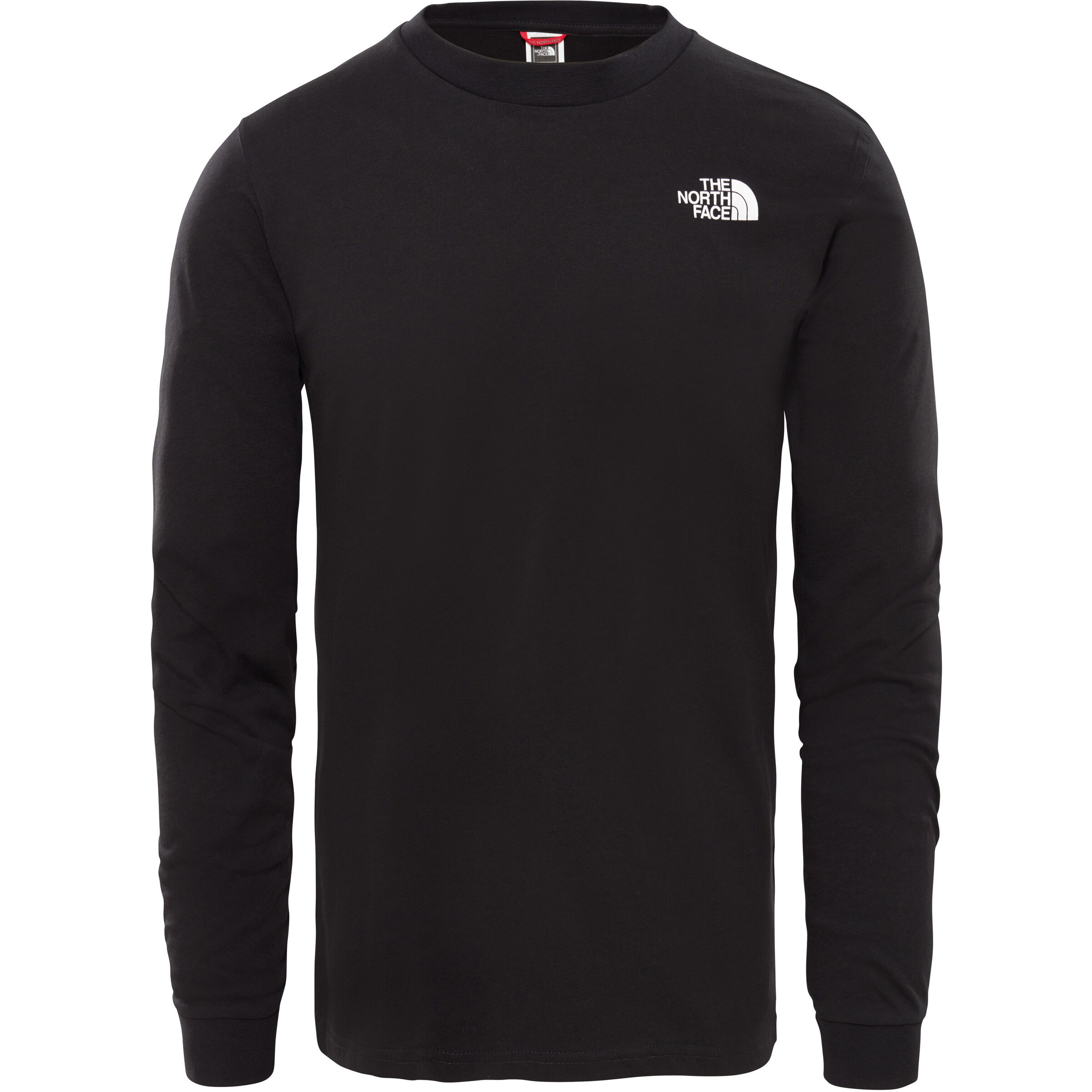 The North Face Simple Dome Langarm T Shirt Herren tnf black