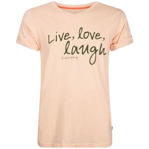 Nihil Live Love Laugh Tee Jungen pink bellini pink bellini