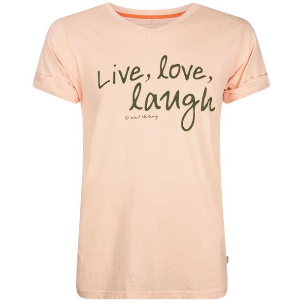 Nihil Live Love Laugh Tee Jungen pink bellini