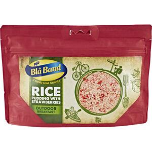 Bla Band Outdoor Frühstück Milchreis mit Erdbeeren