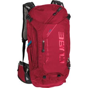 Cube Edge Trail Rucksack 16L red red