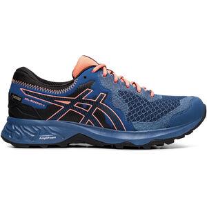 asics Gel-Sonoma 4 G-TX Schuhe Damen mako blue/sun coral mako blue/sun coral