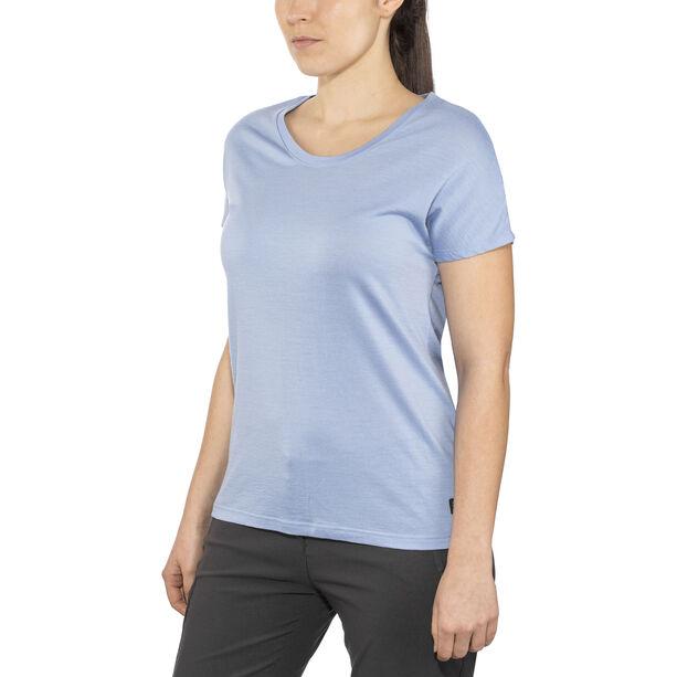Bergans Oslo Wool T-Shirt Damen air blue