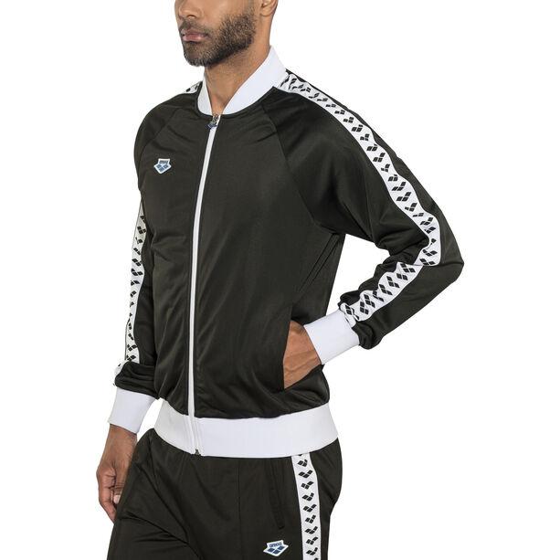 arena Relax IV Team Jacket Herren black-white-black