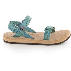 SOURCE Leather Urban Sandals Damen green blur green blur