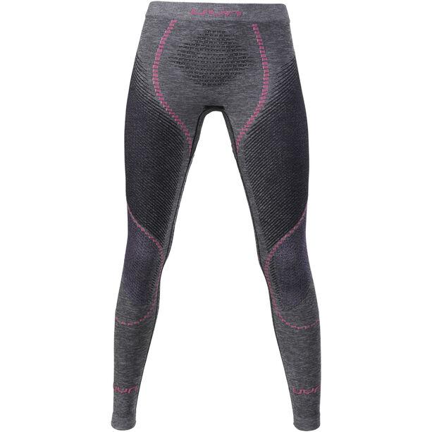 UYN Ambityon Melange UW Long Pants Damen black melange/purple/raspberry