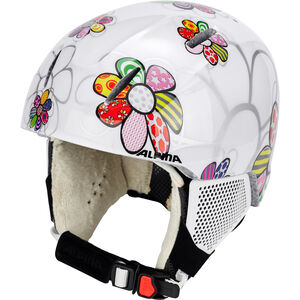 Alpina Carat LX Skihelm Kinder patchwork-flower patchwork-flower
