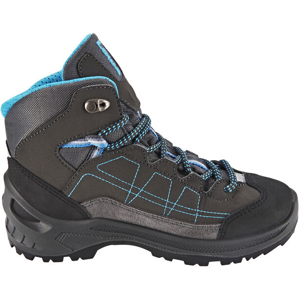 Lowa Approach GTX Mid Schuhe Kinder anthracite/turquoise