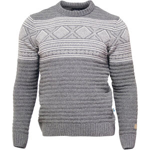 Ivanhoe of Sweden Mattis Rundhals Sweater Herren grey grey
