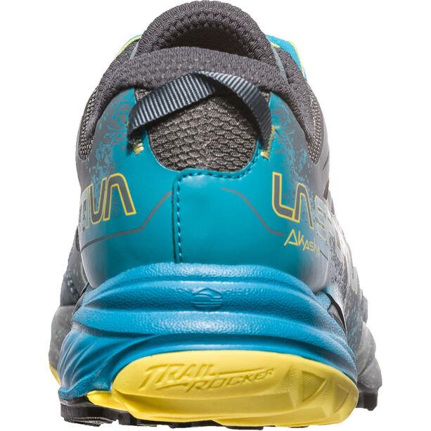 La Sportiva Akasha Running Shoes Herren slate/tropic blue