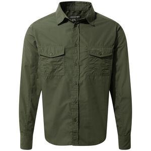 Craghoppers Kiwi Longsleeved Shirt Herren cedar cedar