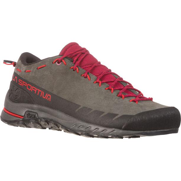 La Sportiva TX2 Leather Schuhe Damen carbon/beet