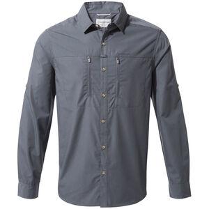 Craghoppers Kiwi Boulder Longsleeved Shirt Herren ombre blue ombre blue