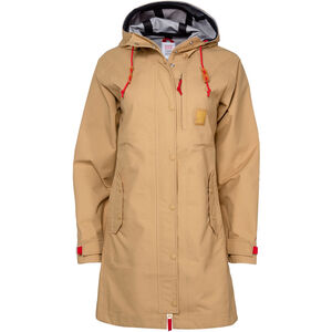 Topo Designs Tech 3-Lagen Trench Damen tan tan