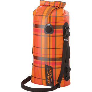 SealLine Discovery Dry Bag 20l orange plaid orange plaid