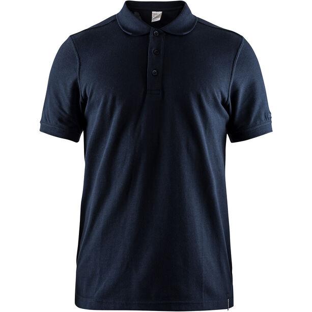 Craft Casual Pique Polo Shirt Herren dark navy