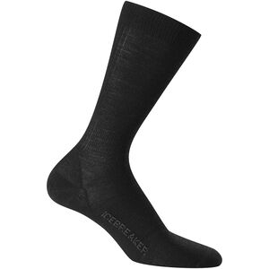 Icebreaker Lifestyle Ultralight Crew Socks Herren black black