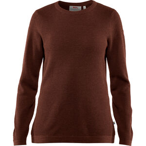 Fjällräven High Coast Merino Sweater Damen marron marron