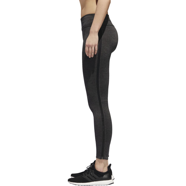 adidas Response Heather Running Tights Damen black/carbon