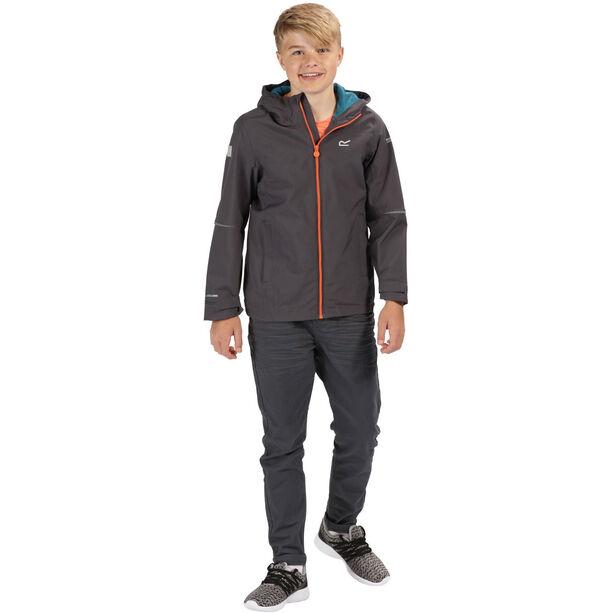 Regatta Hipoint IV Stretch Jacket Jungs seal grey