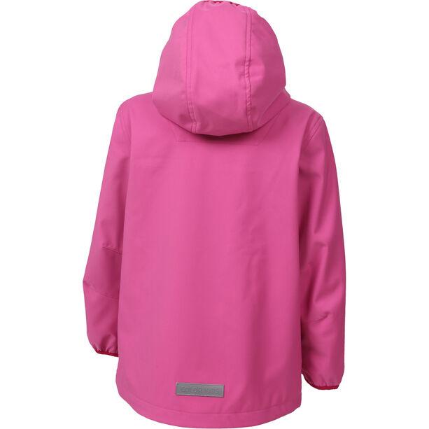 Color Kids Barkin Softshell Jacke Mädchen pink heaven
