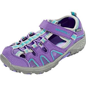 Merrell Hydro H2O Hiker Sandals Mädchen purple/grey purple/grey