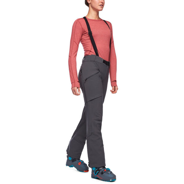 Black Diamond Dawn Patrol Hose Damen anthracite