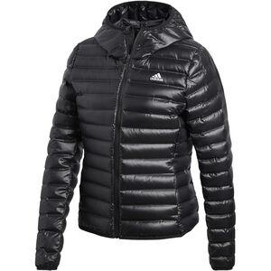 adidas TERREX Varilite Kapuzen-Daunenjacke Damen black black