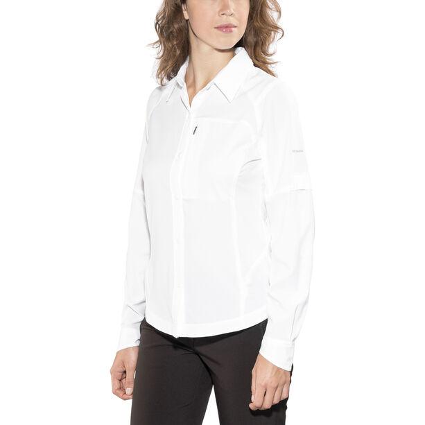 Columbia Silver Ridge Longsleeve Shirt Damen white