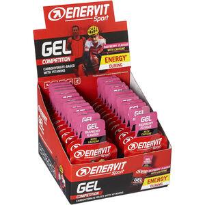Enervit Sport Gel Box 24x25ml Raspberry with Caffeine