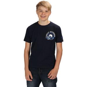 Regatta Bosley II T-Shirt Jungs navy/white navy/white