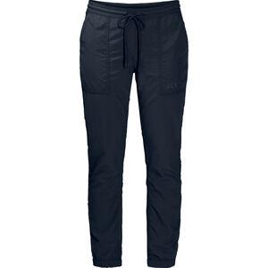 Jack Wolfskin Kalahari Cuffed Pants Damen midnight blue midnight blue