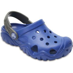 Crocs Swiftwater Clogs Kinder blue jean/slate grey blue jean/slate grey