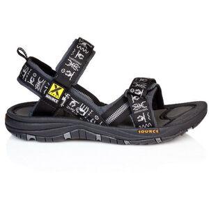 SOURCE Gobi Sandals Herren black inca black inca