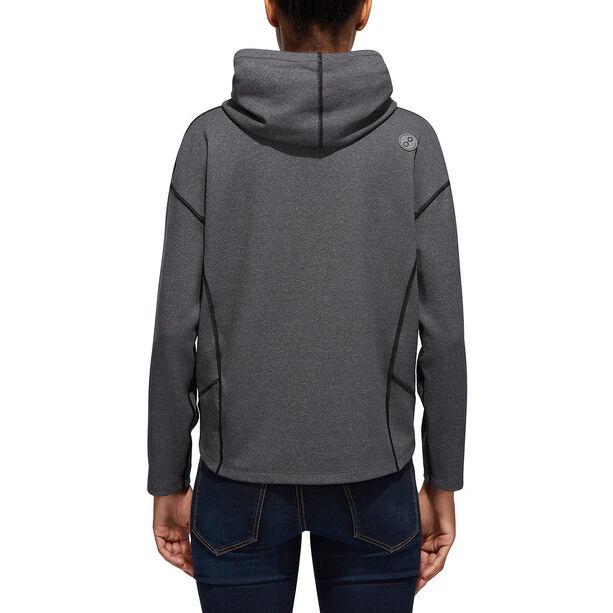 PYUA Tube S Hooded Sweater Damen grey melange