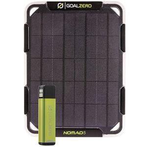 Goal Zero Flip 12 Solar Kit Nomad 5 black black