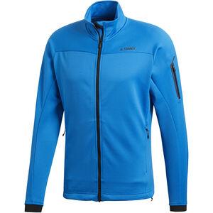 adidas TERREX Stockhorn Fleece Jacket Herren shoblu shoblu