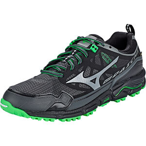Mizuno Wave Daichi 4 GTX Shoes Herren dark shadow/quiet shade/poison green dark shadow/quiet shade/poison green