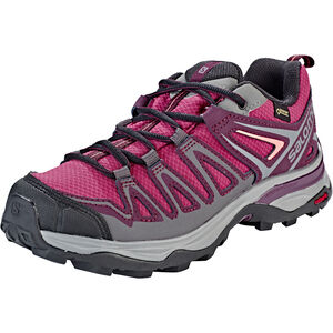 Salomon X Ultra 3 Prime GTX Shoes Damen malaga/potent purple/desert flower malaga/potent purple/desert flower