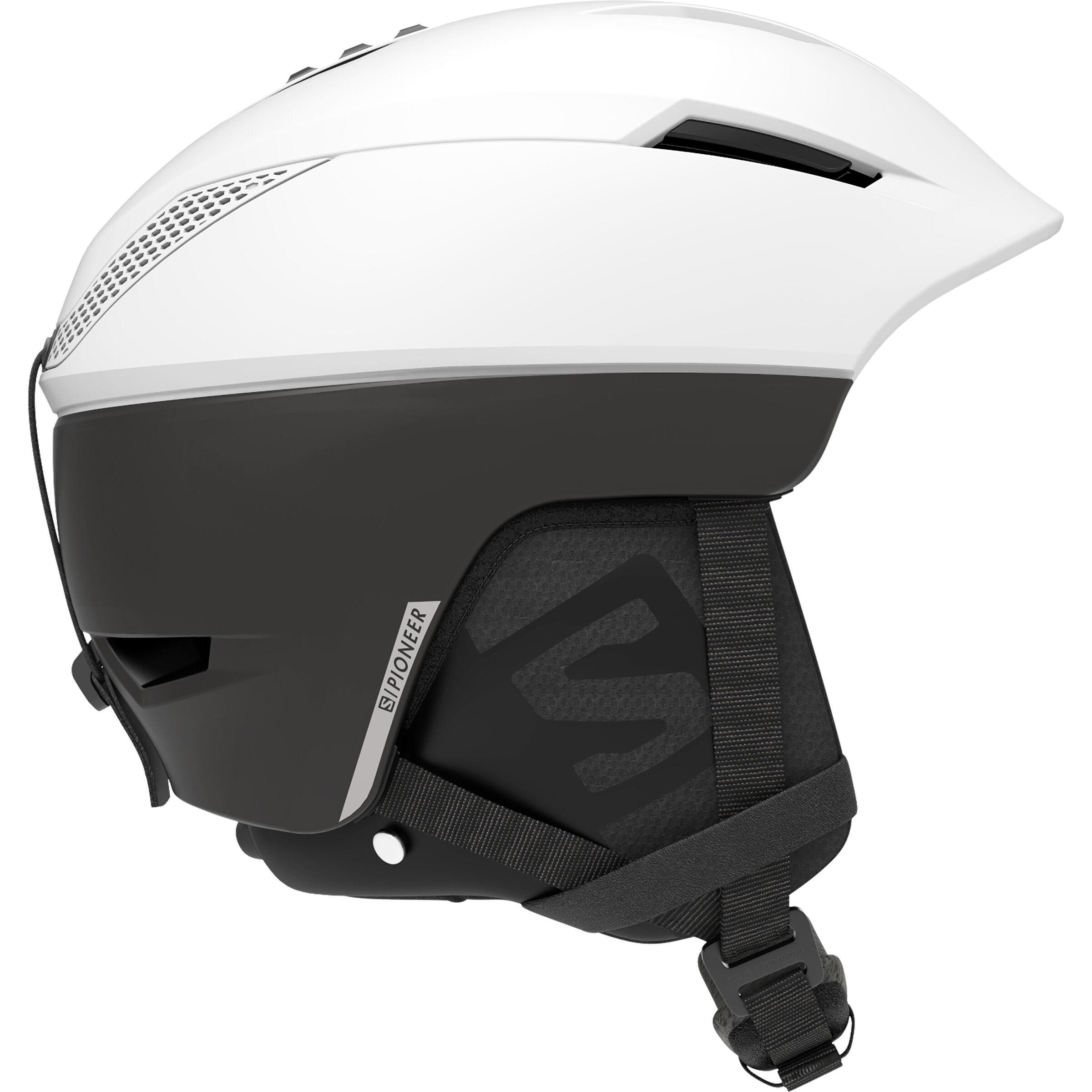 Salomon Icon² C.Air, white glossy premium Skihelm