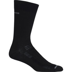 Icebreaker Hike Ultra Light Liner Crew Socks Herren black black