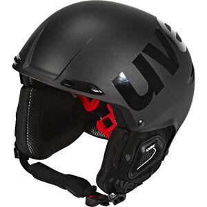 UVEX Jakk+ Octo+ Helmet black mat-shiny black mat-shiny