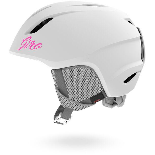 Giro Launch Helm Kinder matte white
