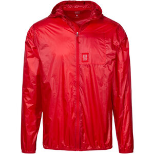 Topo Designs Ultralight Jacke Herren red red