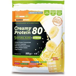 NAMEDSPORT Creamy Protein 80 Drink 500g Banana