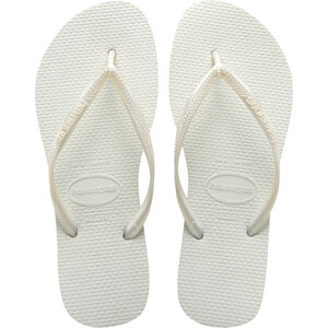havaianas Slim Flips Damen white white
